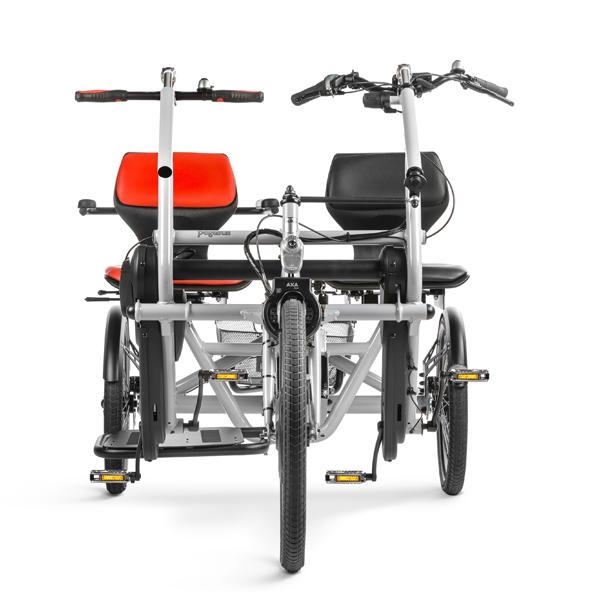 Trident parcykel Pegasus framifrån