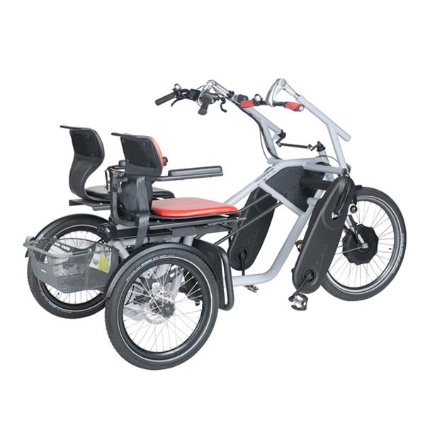 Trident parcykel Pegasus från sidan