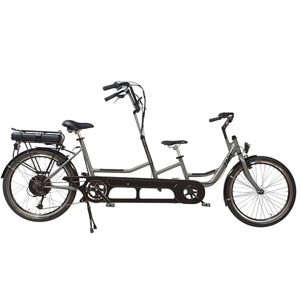 Trident tandemcykel Copilot från sidan