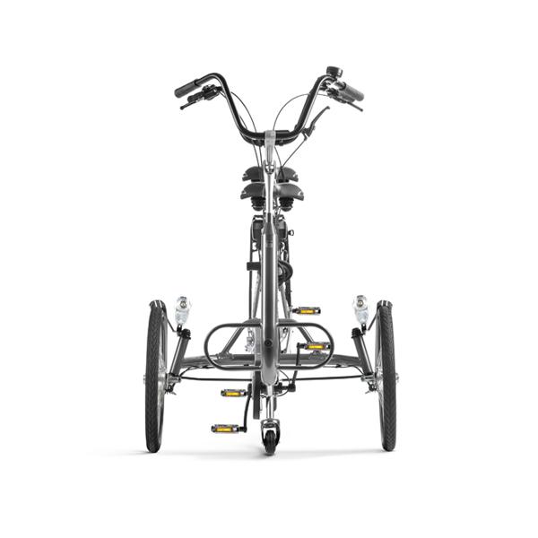 Trident tandemcykel Copilot3 framifrån