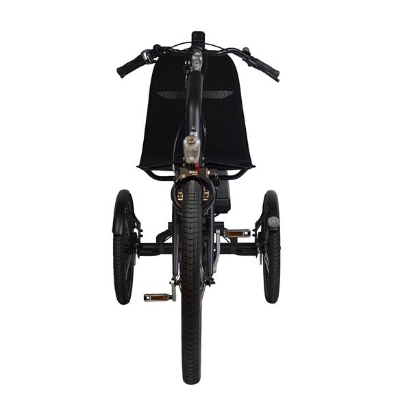 Trident trehjulscykel Cortes framifrån