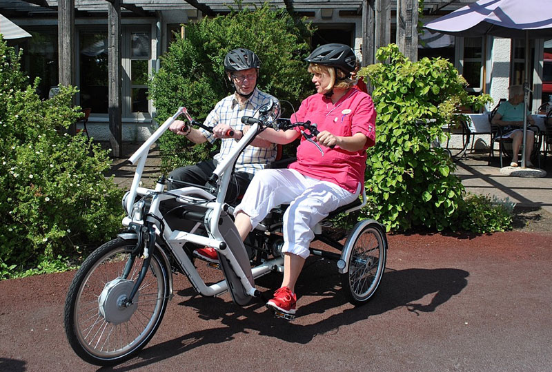 Trident parcykel Jönköping - Äldreboende