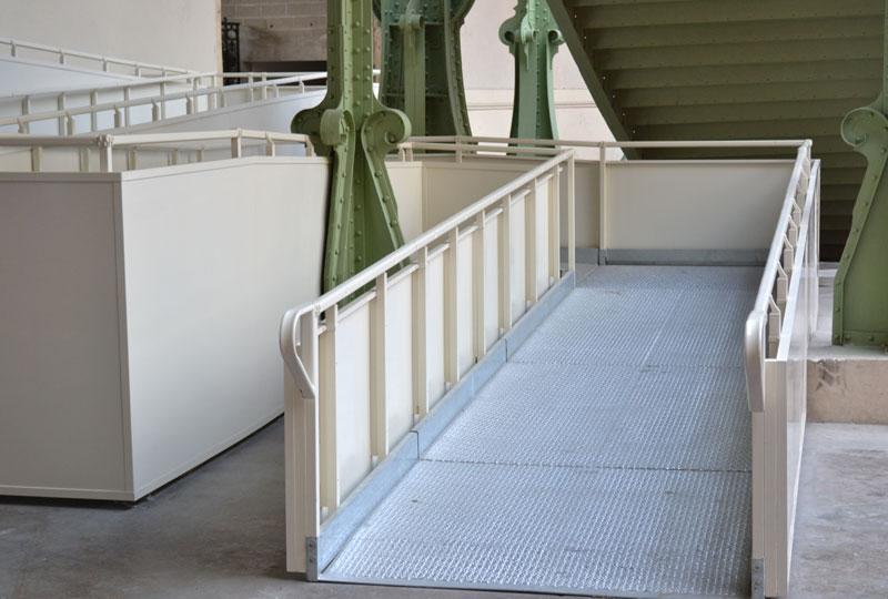 Trident rullstolsramp Paris - Grand Palais