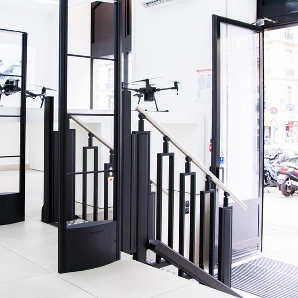 Trident FlexStep butiksbild Paris