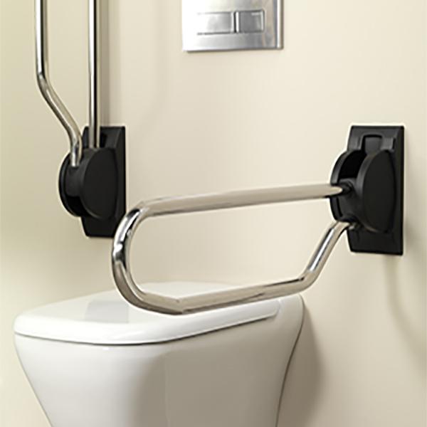 Toalettarmstöd
